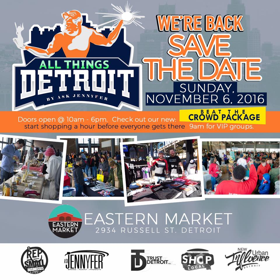 All Things Detroit - Event - Promo